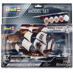Model Set HMS Reverenge (easy click) 1:350