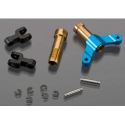 Tail pitch aluminum, Blue, R30, R50, X50