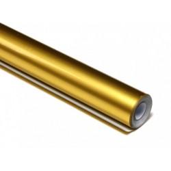 Papel de Forrar Dourado Metalizado 5mts