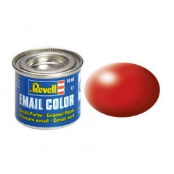 Revell Email Color, Fiery Red, Silk, 14ml, RAL 3000