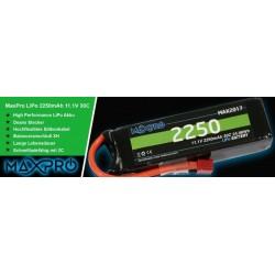 BATERIA LIPO MAXPRO 3S 11,1V 2250MAH 30C