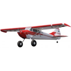 Airplane Premier Aircraft Cessna 170 Super Red / White PNP approx. 2.20m