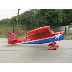 "Avião 40% 100-150CC CF version Decathlon, 150"" Red/Blue"