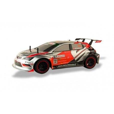 Carro Seat Leon Sport 1/10 2.4Ghz Nico PARKRACERS (C/Bateria e Carregador)