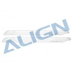 Align pás principais 425G-fibra de vidro