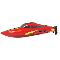 Vector30 Mini Boat with Auto Roll Back Function and Reverse Function 795-3 RTR - brushed motor