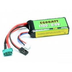 Bateria Life 6.6V 1100mAh 25c