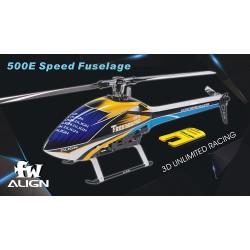500E Speed hull blue / white
