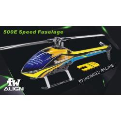 500E Speed hull yellow / blue