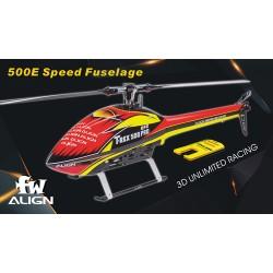 500E Speed hull red / yellow