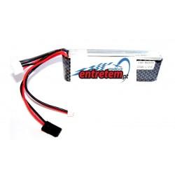 Bateria Lipo 3S 11.1V 10C 2200mAh para rádio