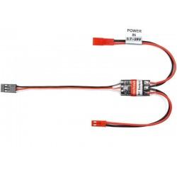 Interruptor Electrónico 5A conecção ao receptor crawler,aviões e carros