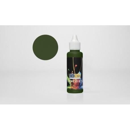 Tinta Acrílica OCCRE, Cor Verde Escuro 30ML