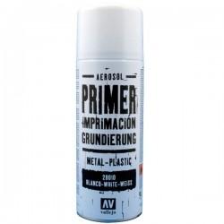 Vallejo White Spray Primer 400ml