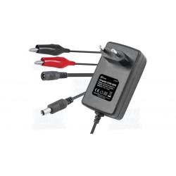 Carregador para baterias de CHUMBO / ACIDO de 6V e 12V 500mAh - Nimo CAR020