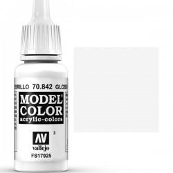 Model Color White Gloss 17ml Vallejo