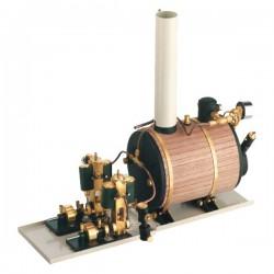Victor Maxi Twin Steam Engine Horizontal Boiler