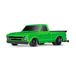 Drag Slash: 1/10 Scale 2WD Drag Racing Truck GREEN Traxxas
