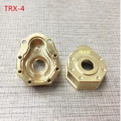 Traxxas TRX-4 Brass Outer Portal Housings