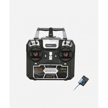 Rádio i4X 8CH + Receiver A8S AMAXinno