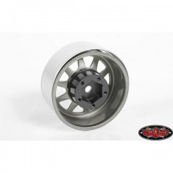 OEM Stamped Steel 1.55 Beadlock Wheels (Plain) RC4WD