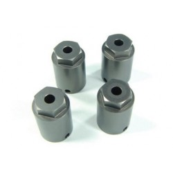 SUT, 14mm, hex axle adapter, gray