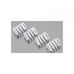 Shock springs, White, 2,5x1,6mm 2units