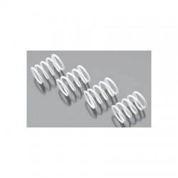 Shock springs, White, 2,5x1,6mm 2units
