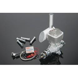 Motor DLE61cc c/ Ignição e escape