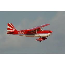 "Avião Decathlon 32% 50-85CC CF , 122"" Red/white"