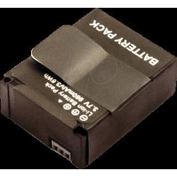 Bateria para câmara GoPro 3.7V 960mAh 3.6Wh Lion