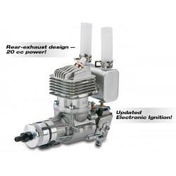 Motor DLE20 C/ Ignição Eléctrónica 20cc