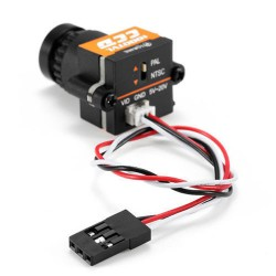 Câmara Mini 1000TVL,Lente 2.8mm,5-20v FPV NTSC Pal Alterável
