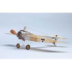 Avião, kit Rubber (elástico) Fokker Eindecker E III Dumas Aircraft