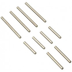 Suspension pin set, front/rear, JATO, TRAC7521