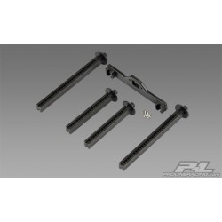 Extended front, rear body posts, T-MAXX, E-MAXX