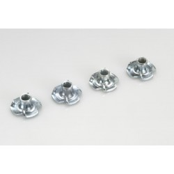 Blind Nut, M4, Galvanized Steel (5un)