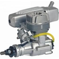 Motor O.S. GGT15 15cc 2-stroke with E-4040 Silencer