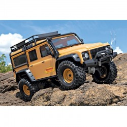Carro TRX4 Defender Land Rover Camel Yellow Tan Limited Edition 1/10