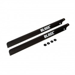 Blade Main Blade Set with Washers Flybarless in Carbon Fiber 325mm