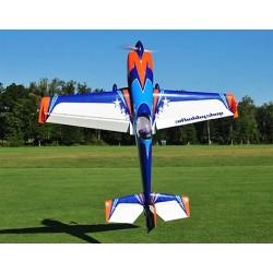 "Extra 300 125"" V4 Blue/orange/white 150-170cc, 2640mm"