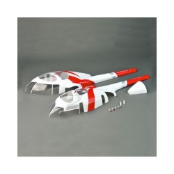 Fuselage, Innovator, MD530, Red