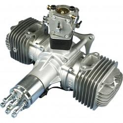 Motor DLE120 + Ignição e silenciador de escape
