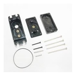 Servo Case Pack ( a set & screw) (For DS660A+、DS760 、DS670 Aluminum upper case )Servo Case Pack ( a set & screw) (For DS660A+、