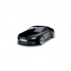 Body, painted, Tomahawk, Audi TT 1/10, black