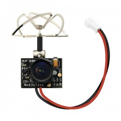 Camera Eachine TX02 NTSC Super Mini AIO 5.8G 40CH 200mW VTX 600TVL 1/4 FPV