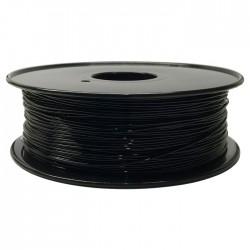 Rolo de Filamento de Impressão 3D PLA 1.75mm Preto 1Kg