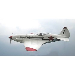 Avião Eléctirco MIG3,com motor e servos