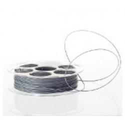 Rolo Filamento Impressão 3D em PETG 1.75mm-Cinza Metálico-1Kg