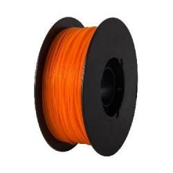 Rolo filamento impressão 3D em PLA 1.75mm-laranja-750g